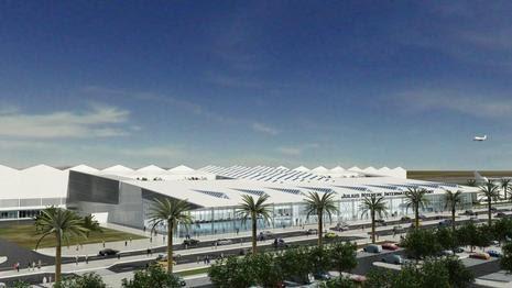 NACO's design for Terminal 3 at Julius Nyerere International Airport, Dar es Salaam