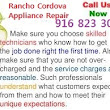 HOW TO CHOOSE THE RIGHT TECHNICIAN? — Rancho Cordova Appliance Repair