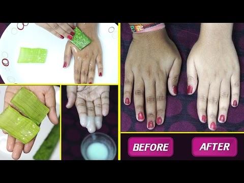 Instant SKIN WHITENING TREATMENT using Aloe Vera