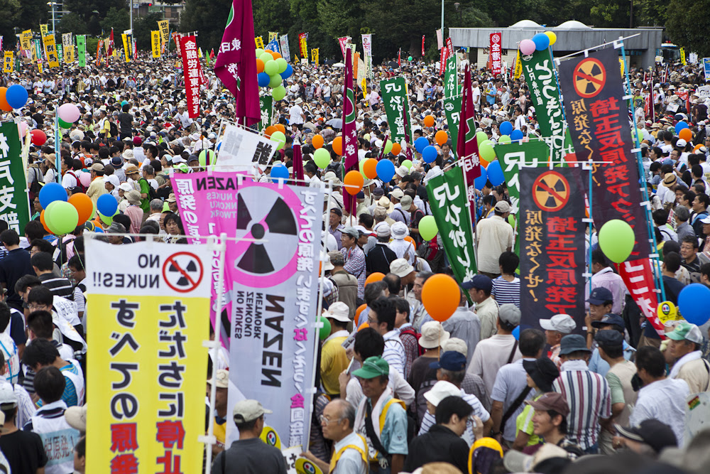 Massive anti-nuclear protests in Japan are not making any difference
