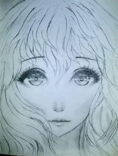 pictures semi realistic girl drawings drawings art gallery