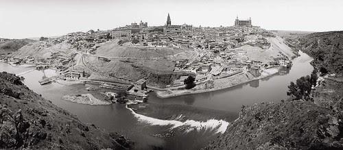 Vista general de Toledo en 1900