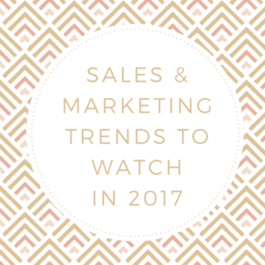 10 B2B Sales Trends to Watch for in 2017