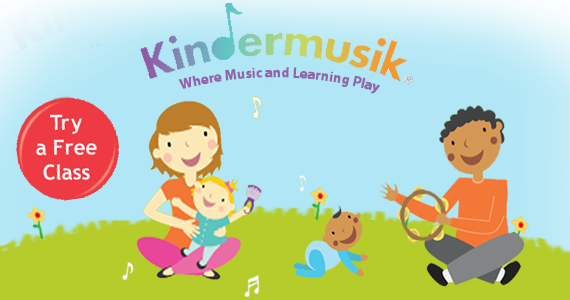 Try out a free music learning class at Kindermusik