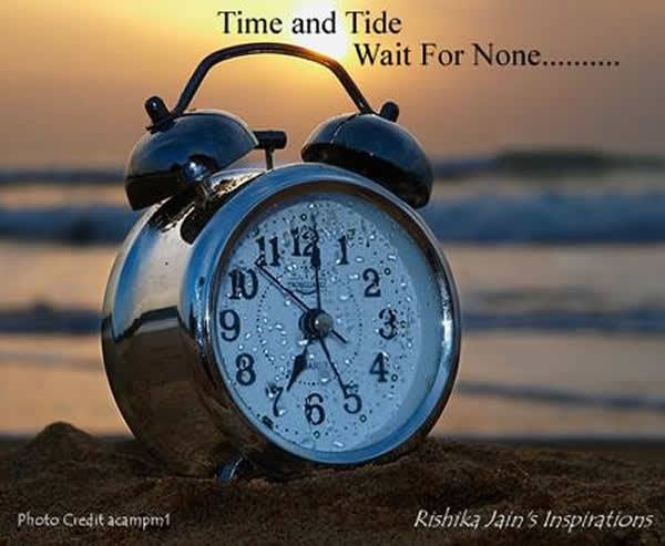 Time Quotes Time And Tide Inspirational Quotes Motivational