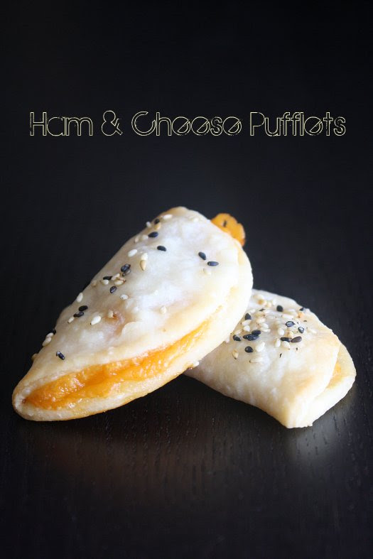 Ham and cheese Pufflets - IMG_3161