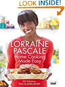 Home Cooking Made Easy by Lorraine Pascale book cover