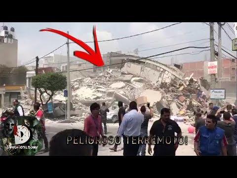 Momentos Captados En El Terremoto De México 19 De Septiembre 2017 Edificios Se Desploman
