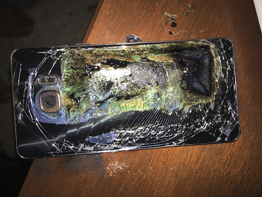 Samsung's Galaxy Note 7 Recall Is an Environmental Travesty
