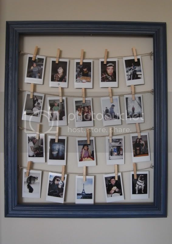 My Little Artichoke Diy Frame For Polaroids