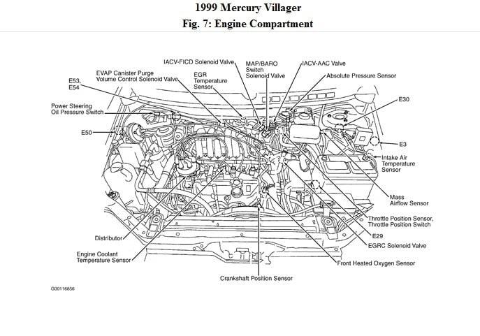 who is: 1999 Mercury Villager crank shaft sensor