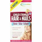Applied Nutrition Hair & Nails, Longer Stronger, Liquid Soft-Gels - 60 soft-gels