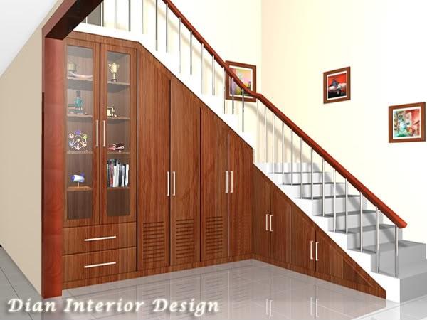 Desain Lemari Kaca Bawah Tangga - Rajasthan Board c