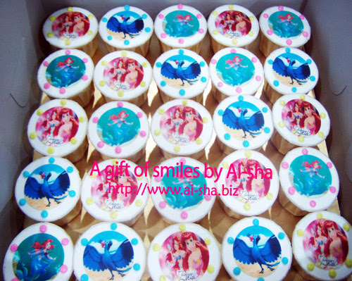 Birthday Cupcake Edible Image