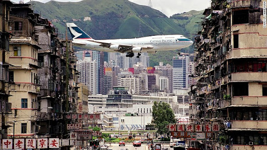Breathtaking photos of Hong Kong airport glory days