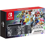 Nintendo Switch Super Smash Bros Ultimate Edition Bundle, Black