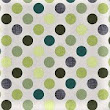 GREEN SPOTS (226) – Vinyl Tablecloth Textile Backed Pvc Coated Sold in Half Metres 137cm (54″ Wide)