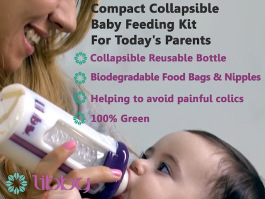 Compact Collapsible Baby Feeding Kit For Today's Parents by Linda Rozenbaum — Kickstarter
