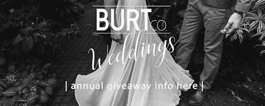 FREE wedding photography by BURTco. | ethan & bethany burt | love intensely | annual giveaway