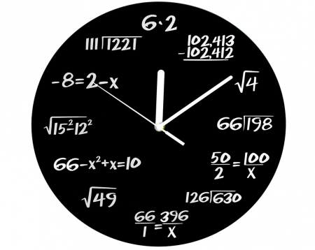 Teachers Gift Idea: Decodyne Math Clock Only $9.99 (down from $24.95)!
