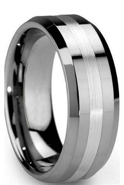 ideas  trendy mens wedding bands
