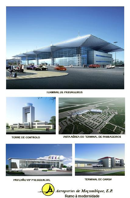 Overall Project Rendering Maputo Airport