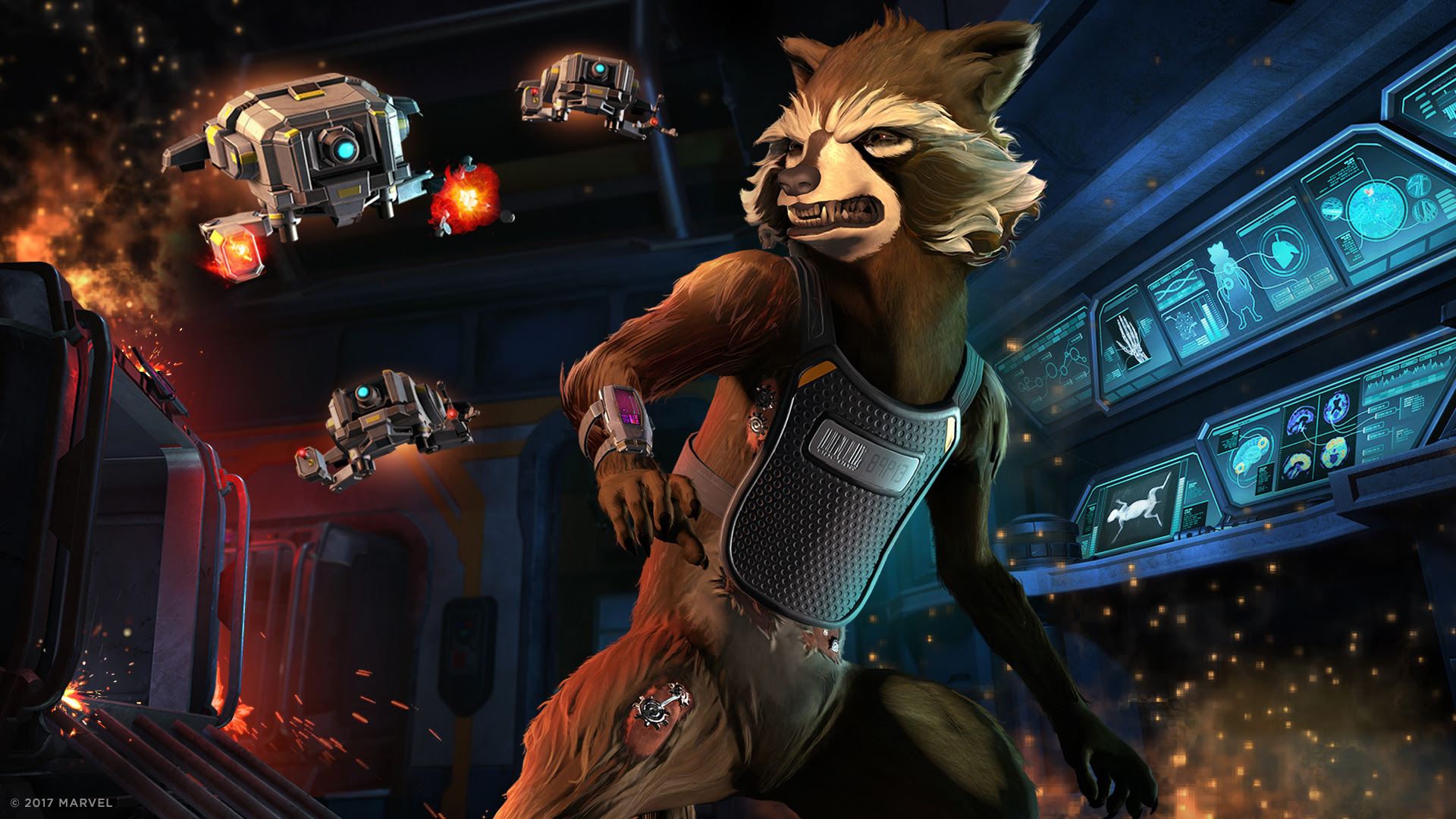 Episode two of Telltale's Guardians of the Galaxy is 'Under Pressure' screenshot