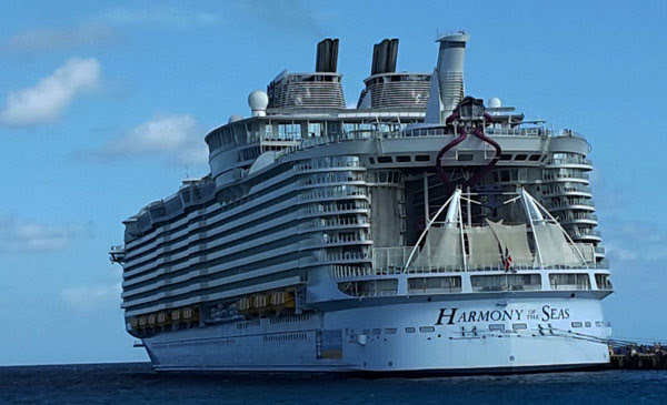 Staff Member Goes Overboard From Royal Caribbean Harmony Of The Seas