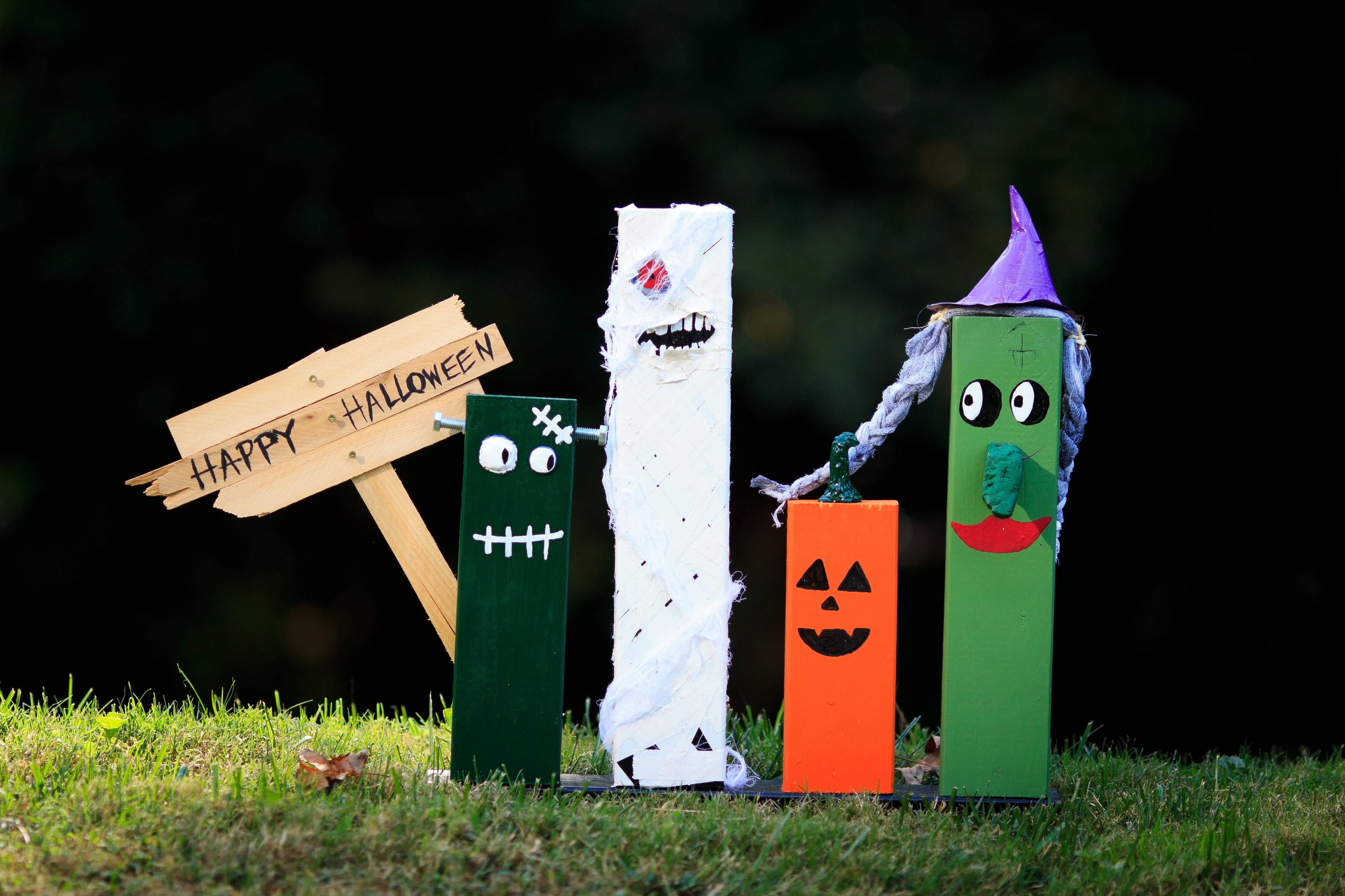 Halloween Spooky Lumber Gang