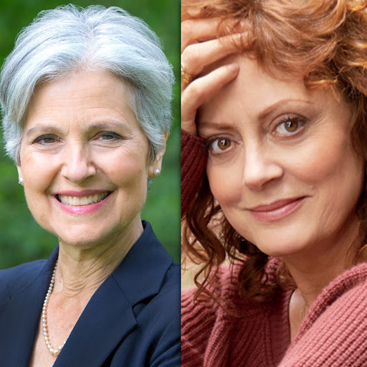 Read why Susan Sarandon has endorsed Jill Stein for POTUS