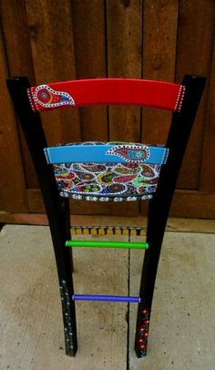 TIPS AND IDEAS FOR PAINTING WHIMSICAL/FUNKY FURNITURE on Pinterest