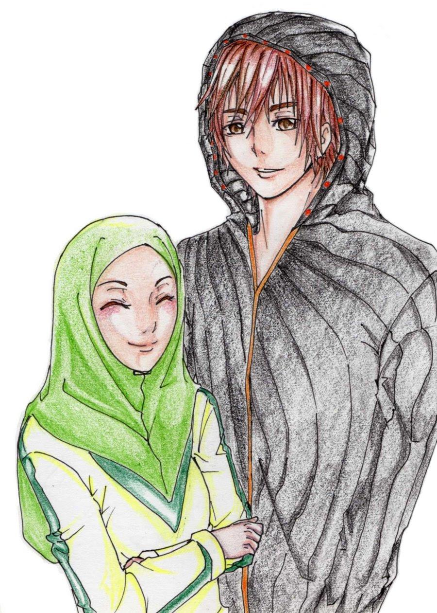 Animated muslim couple quotes quotesgram
