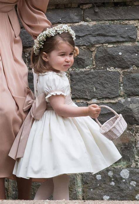 Princess Charlotte of Cambridge looked adorable as the