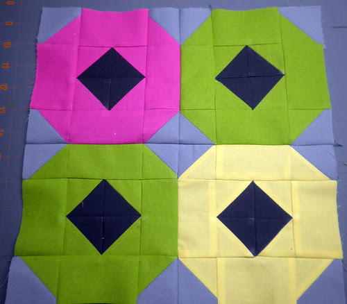 4 Wheeler:   Patchwork Squared Modern Solids Quilt Along