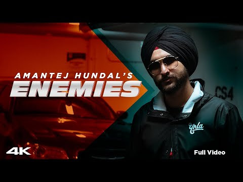 ENEMIES - Amantej Hundal | Official Video | MAINSTREAM (Full Album) | Latest Punjabi Songs 2020