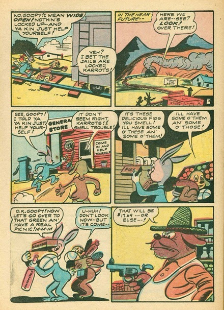 Karrots by Cy King from Nutty Life #2 comic book 1946