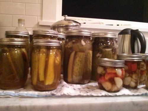 Cucumbers done