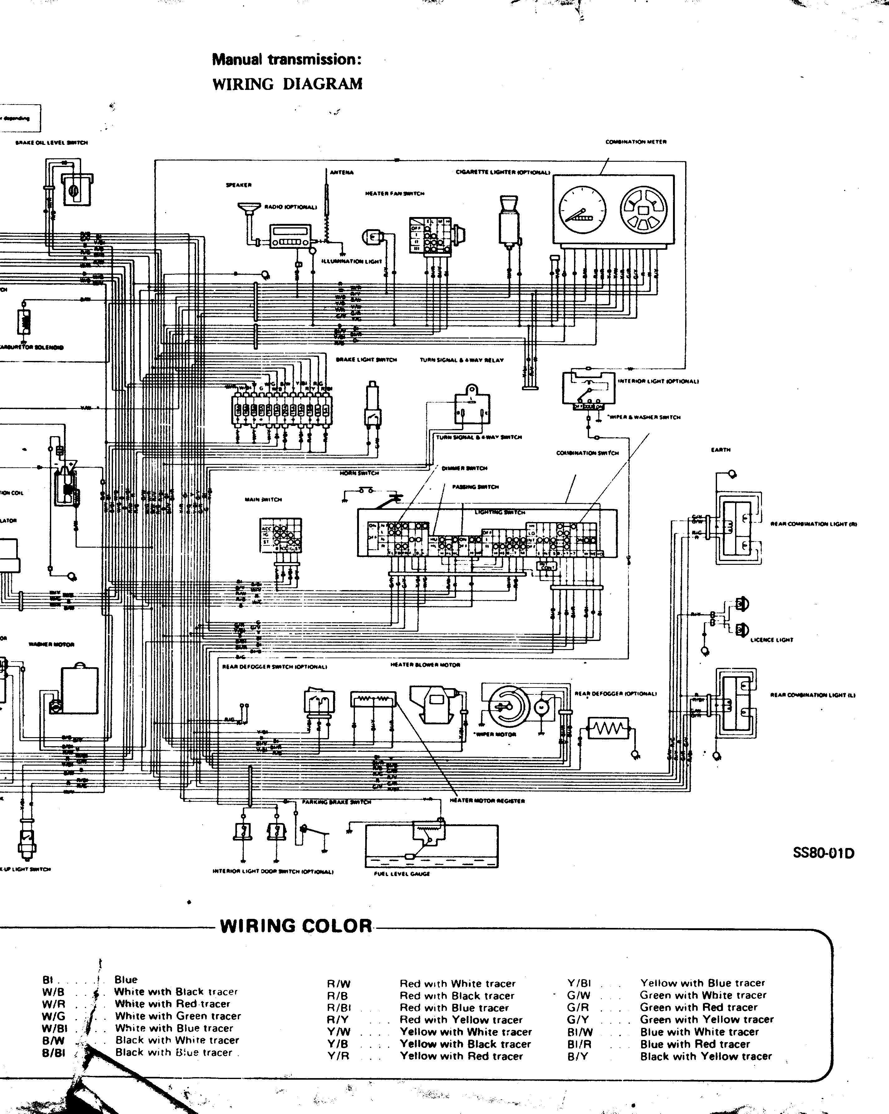 Wiring Diagram Suzuki Wagon R