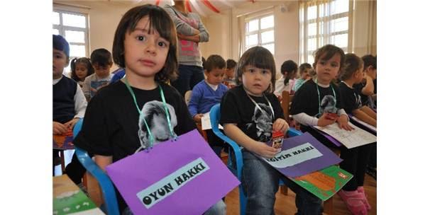 Bilecikte Dünya çocuk Hakları Günü Renkli Etkinliklerle Kutlandı