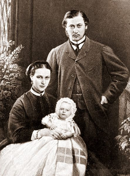 File:Albert Edward, Alexandra, Albert Victor, 1864.jpg