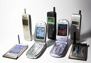Personal Handy-phone System mobiles and modems...