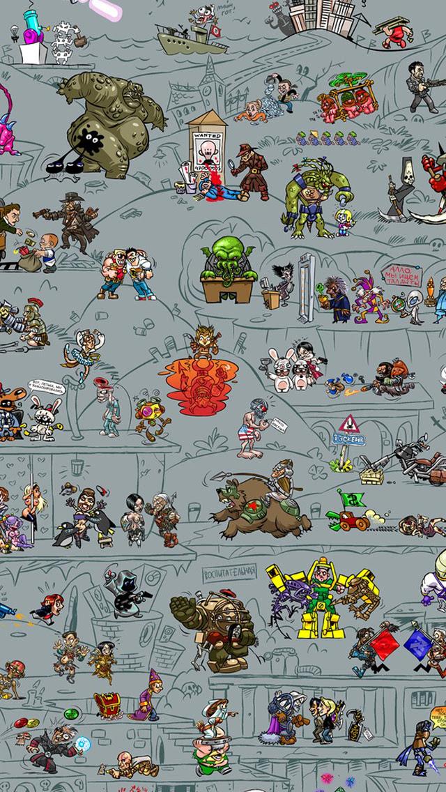 Video Game iPhone Wallpapers - WallpaperSafari