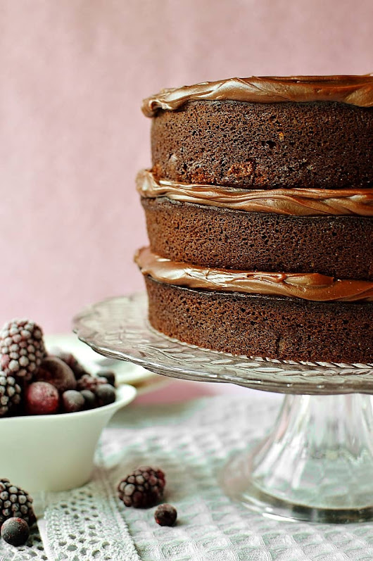 My Favourite Chocolate Layer Cake - Domestic Gothess