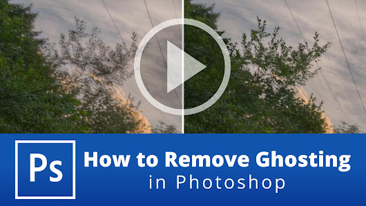 How to Remove Ghosting in Photoshop - farbspiel photography