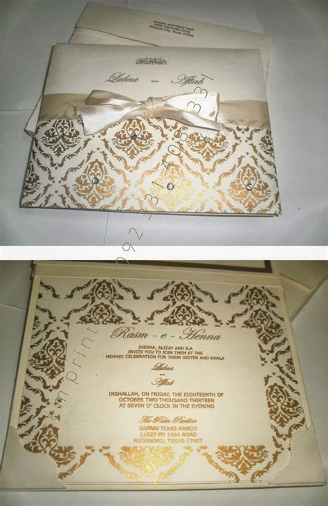 Zem Printers: Wedding Cards in Pakistan