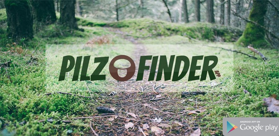"Android App ""Pilz Finder"""