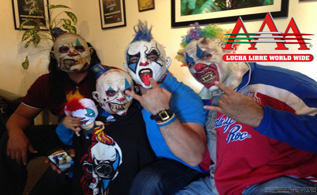 Psycho Circus Cumplen El Sueño De Alex The Gladiatores Lucha Libre