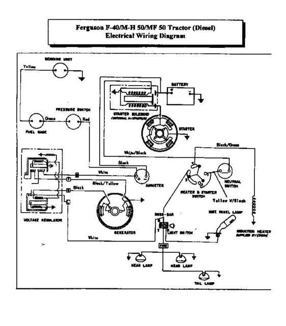Wiring Manual PDF: 12 Volt Wiring Diagram To20 Ferguson