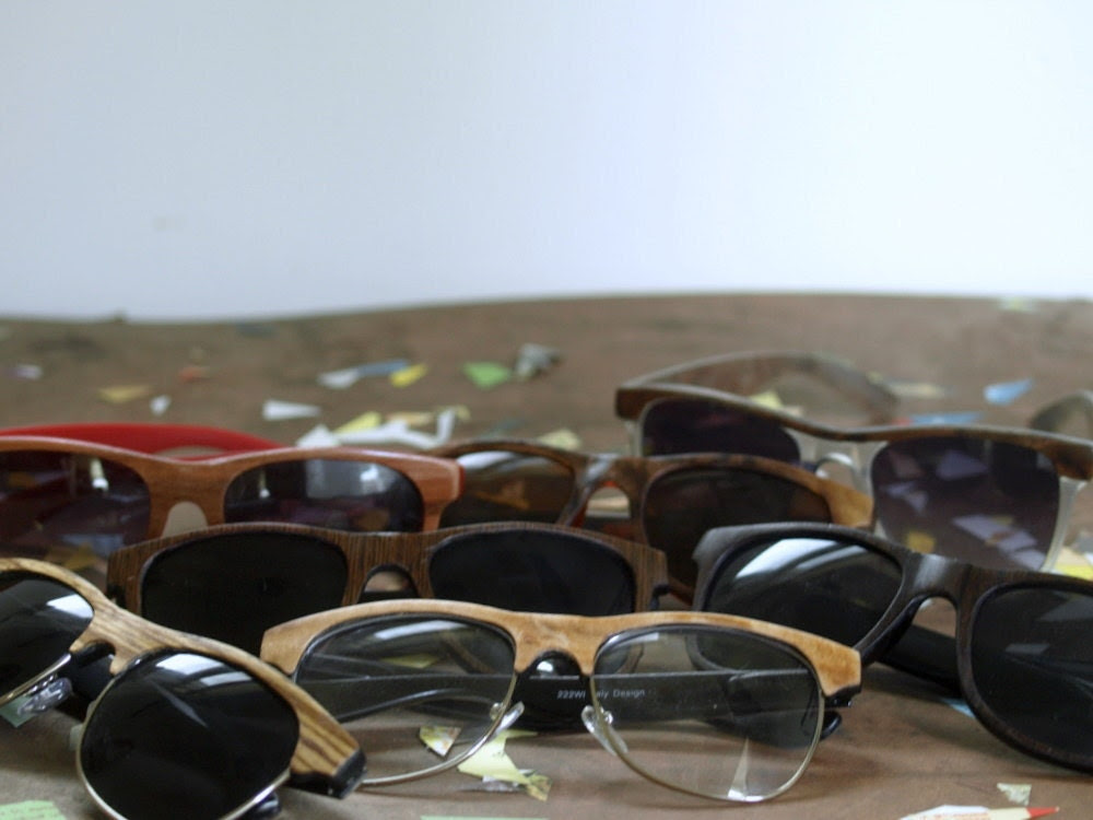 Summer Wooden Sunglasses of the Month Club for Him or Her