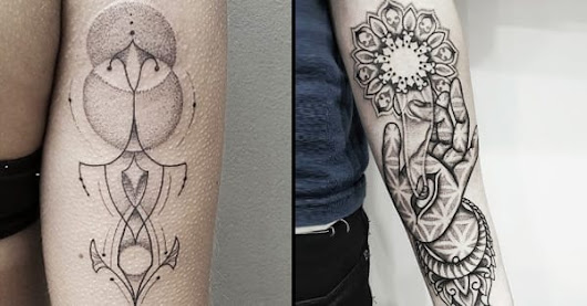 The Natural Dotwork Of Ben Doudakis